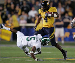 California running back Jahvid Best is one of the reasons the Golden Bears are among the nation's leading in scoring.