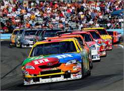 Kyle Busch has led the Toyota charge with a Sprint Cup Series-high eight of the carmaker's nine victories this season. The manufacturer was winless in 2007.
