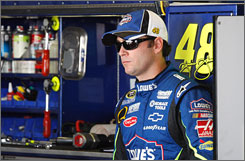 Jimmie Johnson enters the Chase for the Sprint Cup with plenty of momentum, having won two straight entering the 10-race stretch run.