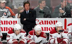 Phoenix coach Wayne Gretzky won't be the general manager of the Canadian hockey team at the 2010 Olympic Games in Vancouver.