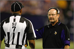Vikings coach Brad Childress dumped third-year player Tarvaris Jackson and made veteran Gus Frerotte his QB, a move he says will last for the rest of the season.