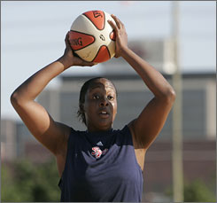 Indiana Fever forward Ebony Hoffman was named the WNBA Most Improved Player on Friday by a national media panel. Hoffman averaged 10.4 points, 7.8 rebounds and 1.8 assists in 2008.