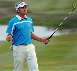 Ian Poulter has been Europe's best player, including his victory with Graeme McDowell in their afternoon match on Saturday.
