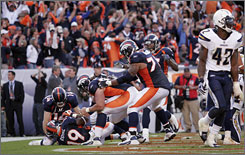 Denver's come-from-behind victory against San Diego in Week 2, after a successful 2-point conversion in the final minute, was one of the highlights of the NFL's first four weeks.