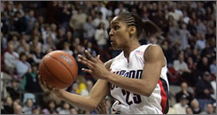 Maya Moore and the UConn Huskies will likely open the season in the top spot in the USA TODAY/ESPN coaches' poll.