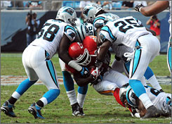 The Carolina Panthers' fourth-ranked defense has helped power the team's 4-1 start.