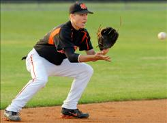 North Davidson High School shortstop Levi Michael will take his fielding skills to college, enrolling early at North Carolina.