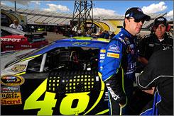 Jimmie Johnson has five career wins at Lowe's Motor Speedway  more than at any other track  and has proved to be a strong finisher in the Cup season's closing weeks.