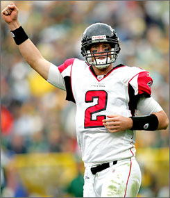 Rookie quarterback Matt Ryan has helped the Atlanta Falcons start off with a 3-2 record, one shy of their win total from last season.