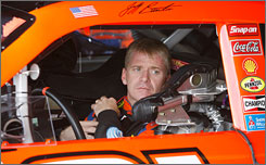 Jeff Burton entered the 2008 NASCAR postseason in seventh place in the standings, but ranks second at the Chase's midway point, just 69 points behind leader Jimmie Johnson.