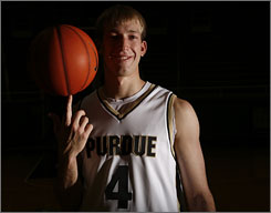 Robbie Hummel lost 25 pounds this offseason after suffering from salmonella poisoning during a trip to California in May. Now, Hummel says he's in peak form and ready to lead the Boilermakers to the top of the Big Ten.