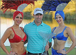 Marc Turnesa wins the Justin Timberlake Shriners Hospitals for Children Open held at the TPC Summerlin in Las Vegas.