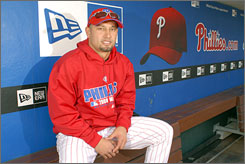 Phillies center fielder Shane Victorino, who was talked out of quitting baseball in 2004 by his father, was let go by the Dodgers in the 2004 Rule 5 draft before he landed in Philadelphia.