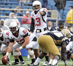 Ball State quarterback Nate Davis will be busy on the week days the rest of the year after playing this Saturday.