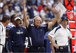 Wade Phillips and the Cowboys stopped their two-game skid with Sunday's defeat of Tampa Bay.