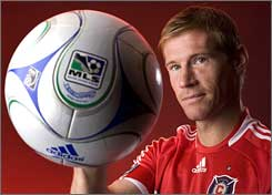 Brian McBride is back in MLS and back in his home state of Illinois.