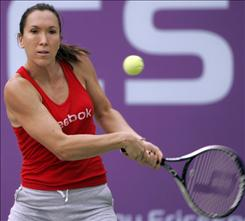 Although she hasn't won a Grand Slam tournament, Jelena Jankovic will finish 2008 ranked No. 1 in the world.