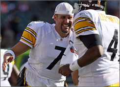 Steelers QB Ben Roethlisberger is the NFL's highest-paid player in 2008.