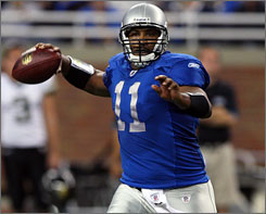 Daunte Culpepper was 5-for-10 for 104 yards with one interception in his first action since last season.