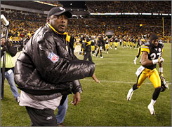 Mike Tomlin and Steelers emerged with an 11-10 victory against San Diego on Sunday, and the NFL acknowledged it wrong nullified a touchdown at the end of the game that would have boosted the margin of victory.