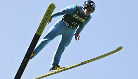 Ski jumper Lindsey Van was named the USOC's athlete of the month after she won her 13th national title in October.