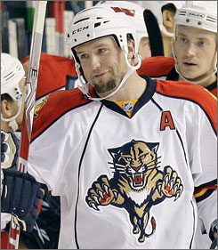 Florida Panthers defenseman Bryan McCabe has no ill will against the Toronto Maple Leafs, his former team.