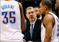 P.J. Carlesimo was already under fire after winning just 20 games last season before the team moved from Seattle to Oklahoma City.