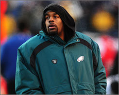 Donovan McNabb will start Thursday for the Eagles, but how many more starts will the quarterback make for Philadelphia?
