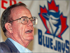 Ted Rogers bought the Toronto Blue Jays in 2000 and Rogers Centre five years later. 