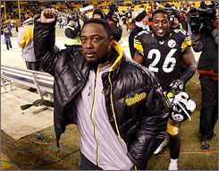"""One of the things that make you feel comfortable under the circumstances is that we have a great defense,"" Steelers coach Mike Tomlin said. ""They have shown me that when we have field position, they keep it for us."""
