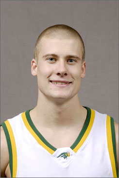North Dakota State guard Ben Woodside put up 60 points against Stephen F. Austin and set a school record for points in a game, but his Bison fell in triple overtime, 112-111.