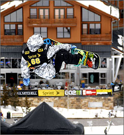 Louie Vito won the halfpipe at the series-opening U.S. Snowboarding Grand Prix event in Copper Mountain, Colorado on Saturday.