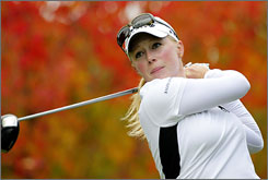 """Morgan Pressel will take part in Monday's Pro-Celebrity Tournament to raise cancer awareness.   """"This is a cause that's close to my heart because of my own work raising awareness of breast cancer, in memory of my mother who passed away from the disease,"""" Pressel  said. """"It means a lot that we're able to have fun while still raising awareness for such an important cause."""""""