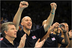 Former USA men's volleyball coach Hugh McCutcheon has been named the women's national team coach. McCutcheon led the men's team to the gold medal at the Beijing Olympics.