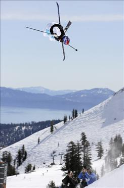 Freeskier Simon Dumont and other stars will compete at the Winter Dew Tour event in Breckenridge, Colo.