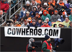 Browns fans have launched 'Cowher09.com' to build support to hire former Steelers coach Bill Cowher in Cleveland.