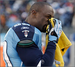 Jevon Kearse and the Titans powered past the Steelers on the field Sunday, then disrespected Pittsburgh's trademark towel once the victory was secure.