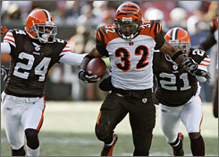 Cedric Benson could step up in Week 17 against the Chiefs' run defense, which ranks 30th in the NFL.
