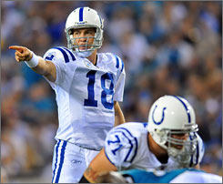 After starting the season with a 3-4 record, Peyton Manning has guided the Indianapolis Colts to eight straight wins and a spot in the postseason.