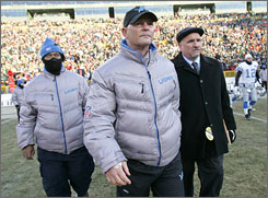 Lions coach Rod Marinelli led the first team in NFL history to finish 0-16.