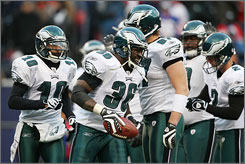The Eagles are one of four road teams favored to deliver knockout blows in wild-card weekend.