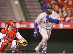 Milton Bradley led the American League in on-base percentage in 2008, but he's had a variety of injury problems throughout his career. The Cubs are looking at him as their full-time right fielder this coming season.