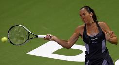 Jelena Jankovic of Serbia opens the year at No. 1, in better shape and with her eyes on a Grand Slam title.