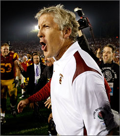 Coach Pete Carroll's Southern California team is one of several with a No. 1 argument.