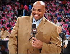 Charles Barkley has been with TNT since his retirement from the NBA in 2000.