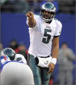 Donovan McNabb and the Eagles have lost just once since he was benched in a November loss. Now, they are headed to Arizona for the NFC title game.