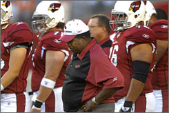 Dennis Green could never develop a winning culture in three seasons as Cardinals coach.
