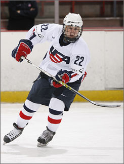 Team USA's Kendall Coyne scored the game-winning goal in the under-18 world championship title game on Saturday.