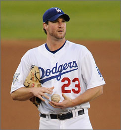 Derek Lowe is third among all major league pitchers in wins since 2003.