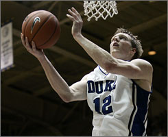 Forward Kyle Singler and the No. 2 Duke Blue Devils host No. 12 Georgetown Saturday at 1:30 p.m. ET.